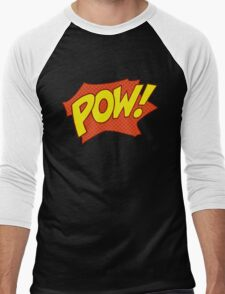 POW! Men's Baseball ¾ T-Shirt