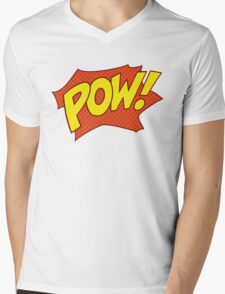 POW! Mens V-Neck T-Shirt