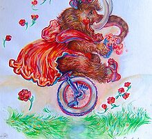 Lootie the Wooly Mammoth by Barbara Sparhawk