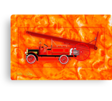 1914 Dennis Fire Engine - all products Canvas Print