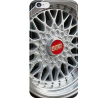 BBS wheels iPhone Case/Skin