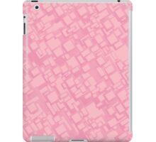 Vintage pink rectangle pattern iPad Case/Skin