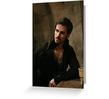 Killian Jones aka Captain Hook Greeting Card