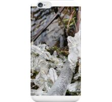 icicles and water iPhone Case/Skin