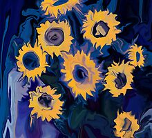 Sunflower 1 by Rabi Khan