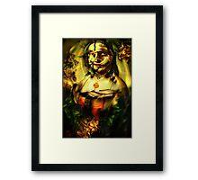 Ghost Portrait Nr. 3 - Maddalena Doni Framed Print