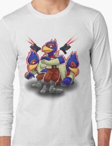 Falco Victory Pose T-Shirt Long Sleeve T-Shirt