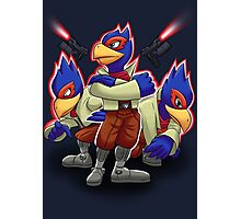 Falco Victory Pose T-Shirt Photographic Print