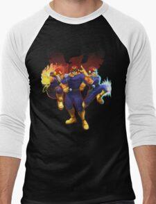Show Me Your Moves, Captain Falcon!  Men's Baseball ¾ T-Shirt