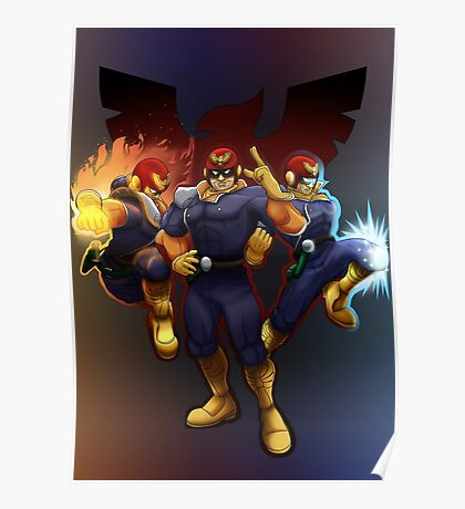 Show Me Your Moves, Captain Falcon!  Poster