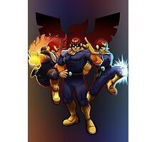 Show Me Your Moves, Captain Falcon!  Photographic Print