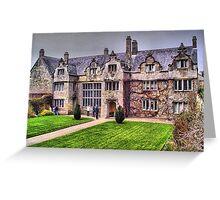 Trerice Manor House Greeting Card