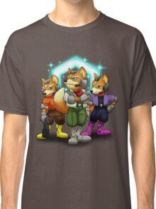 Fox Victory Pose T-Shirt  Classic T-Shirt