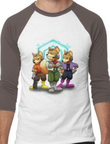Fox Victory Pose T-Shirt  Men's Baseball ¾ T-Shirt