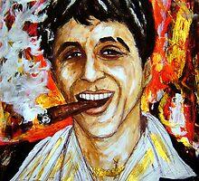 Tony Montana by amoxes