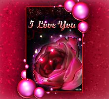 I Love You Valentine's Day Gift by Make-It-Mico