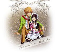 Kaichou wa Maid-Sama - Takumi x Misaki² by IzayaUke