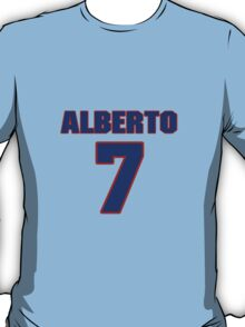 National baseball player Alberto Castillo jersey 7 T-Shirt