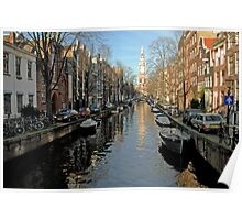 Amsterdam:Canal Poster