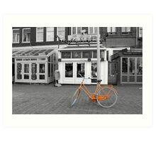 Amsterdam:Oranje Art Print