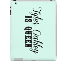 Tyler Oakley is Queen PASTEL iPad Case/Skin