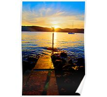 Follow The Light - The HDR Series- Palm Beach , Sydney Australia Poster