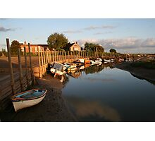 Sunrise at Blakeney Harbour Photographic Print