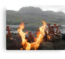 Clay People- Slioch first settlers Canvas Print