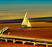Looks like sailing by Kurt  Tutschek