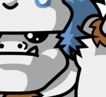 Behemuh - Happy Little Monster Sticker