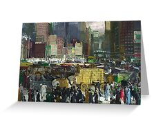 New York - George Bellows Greeting Card