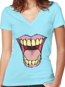 A Killer Joke Women's Fitted V-Neck T-Shirt