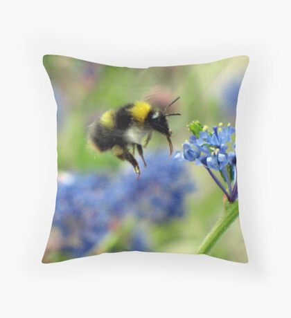 Zooming In Throw Pillow
