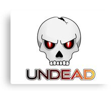 Undead Canvas Print