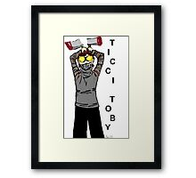 Ticci-Toby Tribute Framed Print