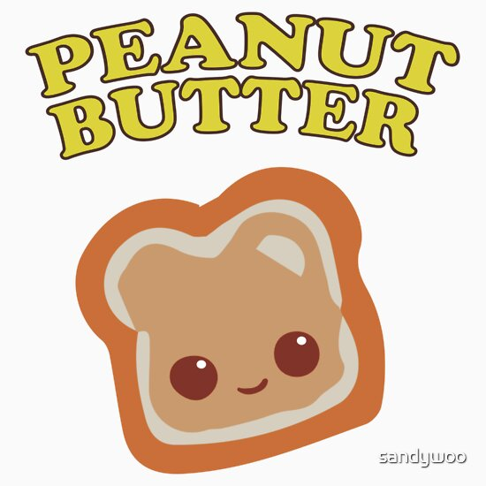 """Couple - Peanut Butter (& Jelly)"""" Stickers by Sandy W 