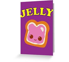 Couple - (Peanut Butter &) Jelly Greeting Card