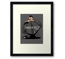 The Architect of the Shield Framed Print