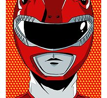 MMPR - Red Ranger by averagejoeart