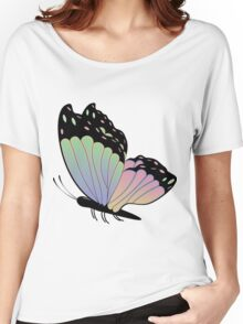 Cartoon Butterfly Women's Relaxed Fit T-Shirt
