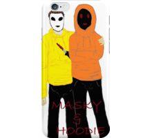 Masky & Hoodie iPhone Case/Skin