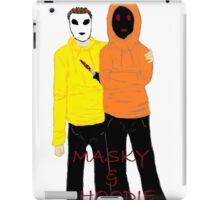 Masky & Hoodie iPad Case/Skin