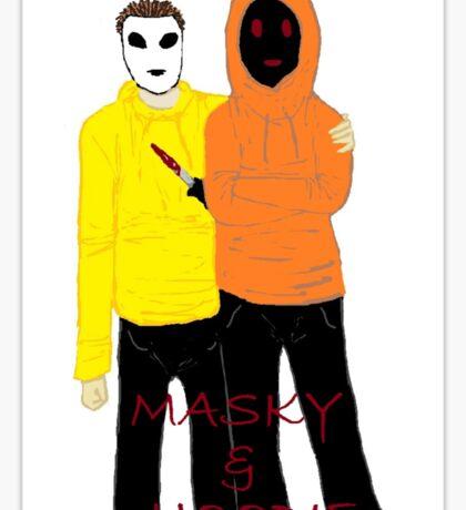 Masky & Hoodie Sticker