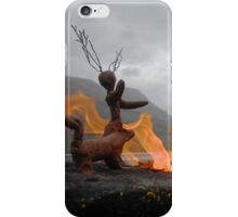 Clay People arrive at Loch Maree iPhone Case/Skin