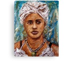Santeria Woman Canvas Print