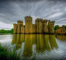 Bodiam Castle by fernblacker