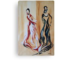 Flamenco Dancers Canvas Print