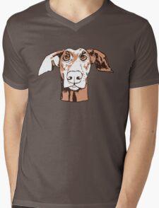 Quirky doberman Mens V-Neck T-Shirt