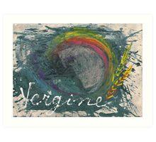 vergine Art Print