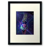 Space Time 125 Framed Print